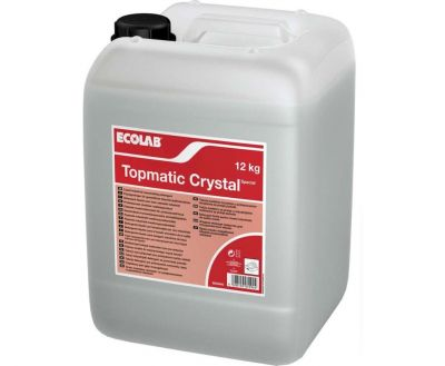LIQUID DISHWASHER DETERGENT TOPMATIC CRYSTAL SPECIAL 12kg, ECOLAB