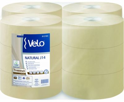 PAPIR TOALETNI , VELO NATURAL, MINI JUMBO