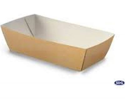 SQUARE PLATE FINGERFOOD 138 x 68 x 45, 300/1