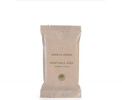 ECO VEGETABLE SOAP IN BAG, GENEVA GREEN, 15g
