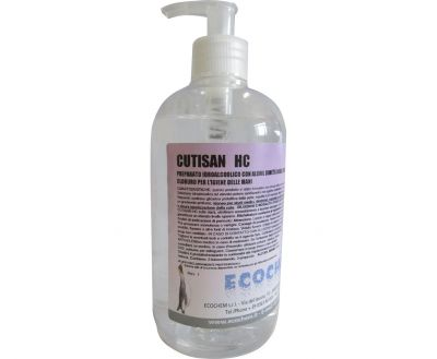 CUTISAN HC EFFECTIVE HAND DISINFECTION WITH A PUMP 500 ml (70% alcohol)