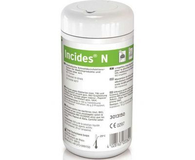 INCIDES N SURFACE DISPOSABLES (90 wipes)