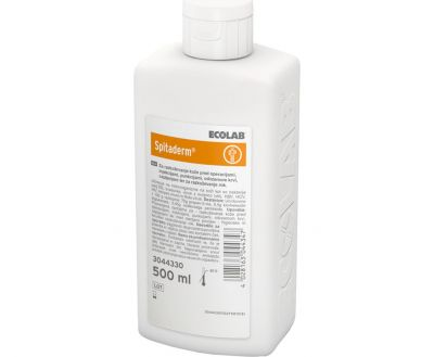 SPITADERM SOLUTION FOR DISINFECTION, ECOLAB 500 ml