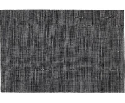 TABLE PLACEMAT DARK GREY TUNDRA line, LEONE